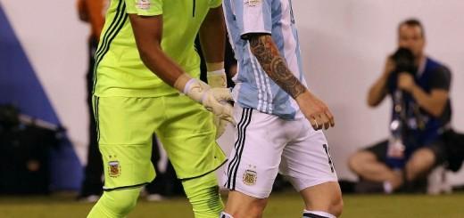 """Romero: """"No me imagino una selección sin Messi"""""""