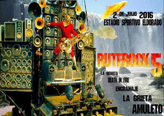 Eldoradenses anticipan la quinta edición del RuteRock con un documental
