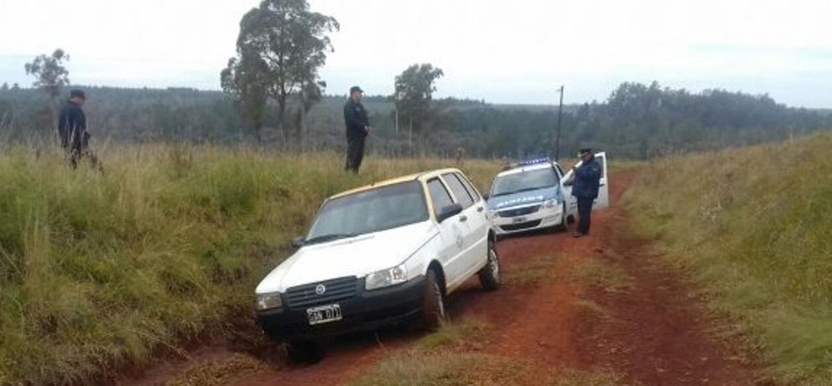 Ladrón asaltó a un taxista en Posadas: le robó la recaudación y el coche