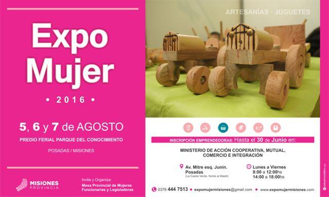 Expo Mujer 2016: continúa abierta la inscripción