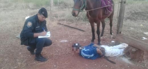 Posadas: atacaron a un anciano y luego huyeron a caballo