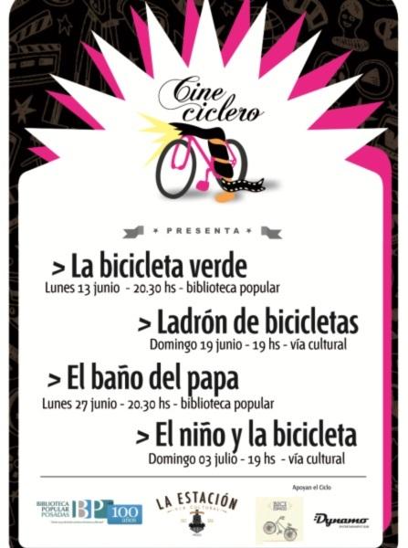 Posadas celebra la bicicleta con un ciclo de cine