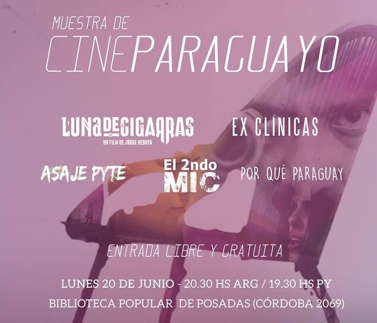 El cine paraguayo llega a Posadas aprovechando el feriado del lunes