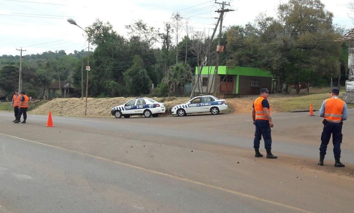 Zona Centro: la Policía retuvo 13 motocicletas y labró 25 actas de infracción