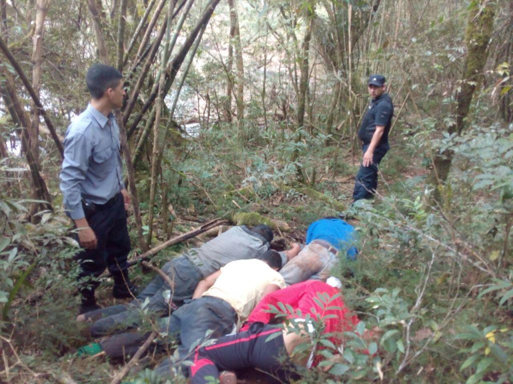 Pescan a cuatro ladrones de ganado en Caraguatay