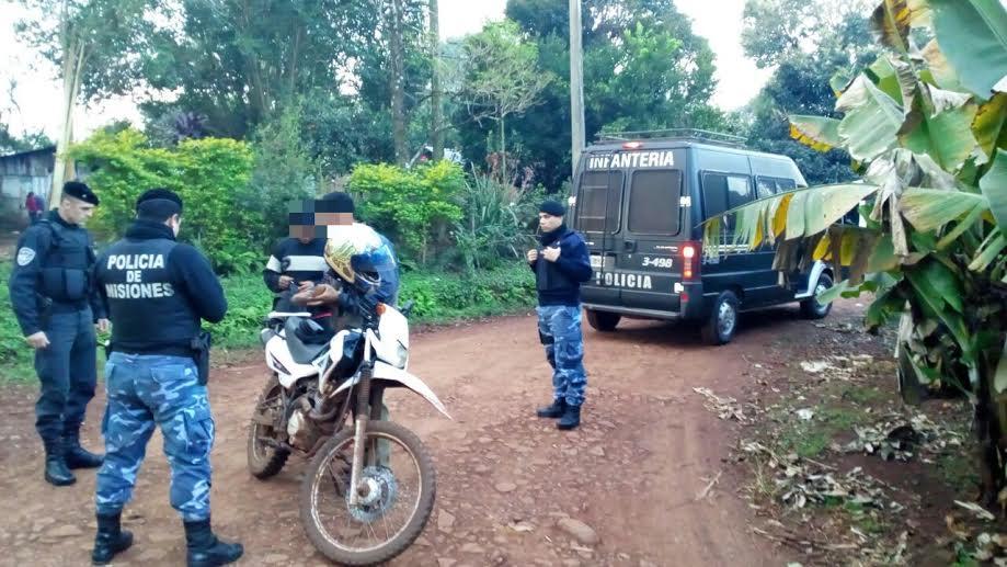 Intensifican operativo policial en zonas consideradas conflictivas de Garupá, Eldorado e Iguazú