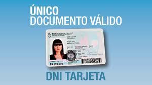 A partir del 31 de julio de 2016 el nuevo DNI Tarjeta será el único documento válido