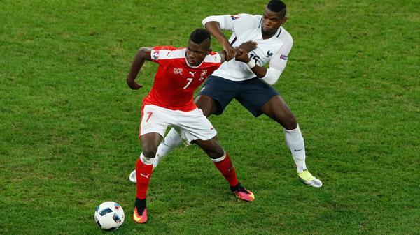 Eurocopa: Francia empató con Suiza y es líder del Grupo A
