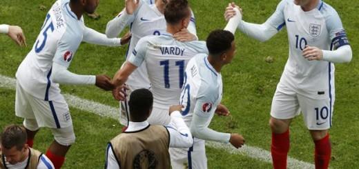 Inglaterra-Gales, Eurocopa 2016: los ingleses lo dieron vuelta en el descuento y festejaron a lo grande