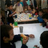 Se realizó Peña Solidaria en el BOP N° 8 de Villa Cabello
