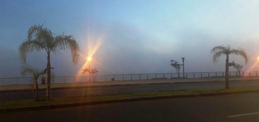 Heladas en la zona centro y densa neblina en Posadas y alrededores