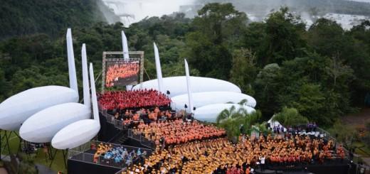 """""""Iguazú en Concierto es uno de los mayores eventos musicales de América Latina"""""""
