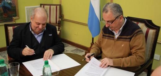 Passalacqua y el ministro de Medios Públicos Lombardi firmaron convenio para promoción de contenidos misioneros