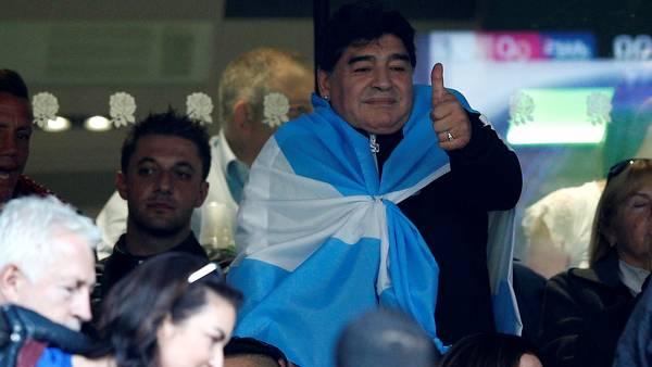 Frases polémicas: se filtró un audio en el que Maradona le pega a la Selección