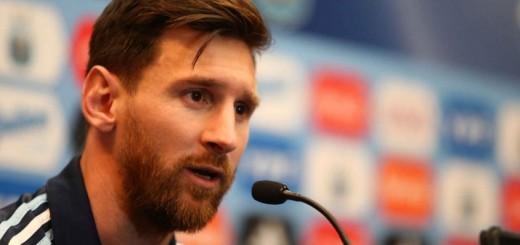"""""""Me gustaría que cambie la historia"""", dijo Messi"""