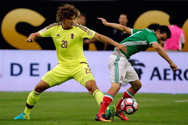 Copa América: Un golazo de México dejó a Venezuela en el camino de la Argentina