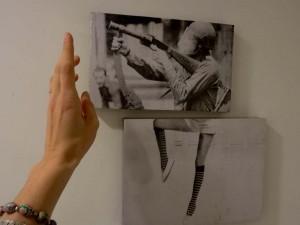 """La muestra artística """"Acto en Negro"""" se exhibirá hasta el 13 de julio en la Casa de Misiones"""