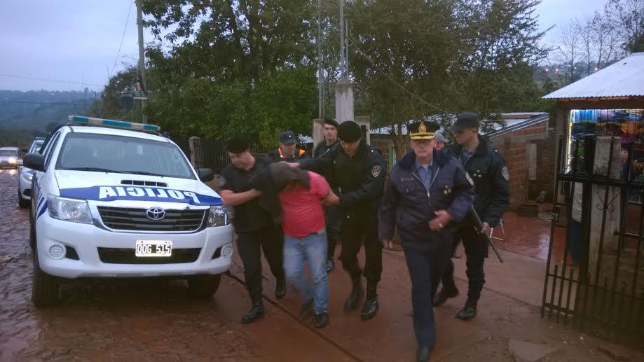 Un detenido por robo a una familia en Dos de Mayo