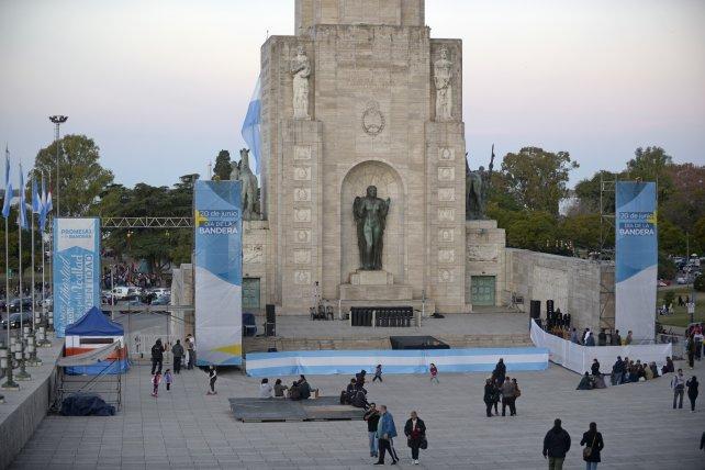 VIVO: Macri encabeza acto por el Día de la Bandera en Rosario