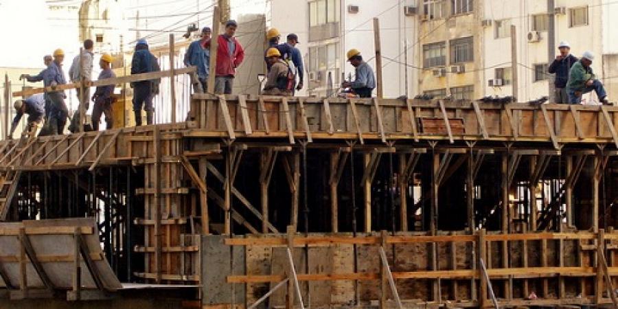 Venta de insumos para la construcción cayó 12,5%