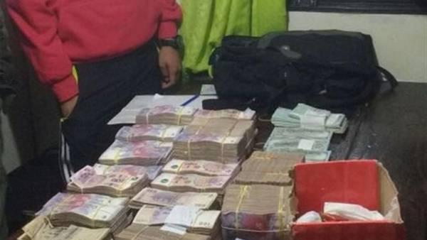 Valijeros en Entre Ríos: los últimos detectados dijeron que era plata para comprar un camión