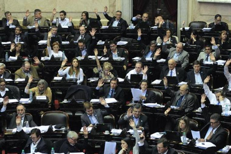 Diputados dio media sanción al blanqueo de capitales y reparación a jubilados