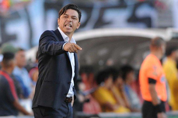 """Luego de la derrota Gallardo justificó: """"las condiciones del armado del plantel no son ideales"""""""
