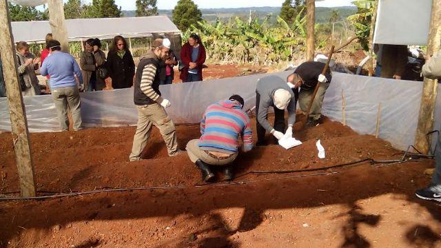 Capacitaron sobre Desinfección de suelo para cultivos y manejos de agroquímicos