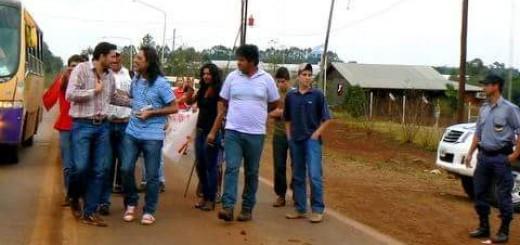 Diputado misionero agredió a productor yerbatero porque no se sumó a un piquete