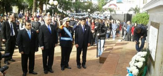 """Bicentenario de la Independencia: """"El poder está en la gente, en el pueblo"""", dijo Passalacqua"""