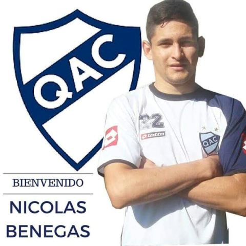 Con dos goles de Nico Benegas, Quilmes venció al campeón uruguayo