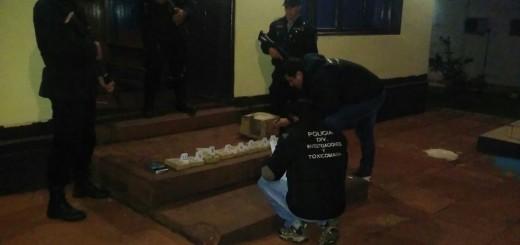 Alba Posse: hallaron más de 9 kilos de marihuana al costado de un camino vecinal