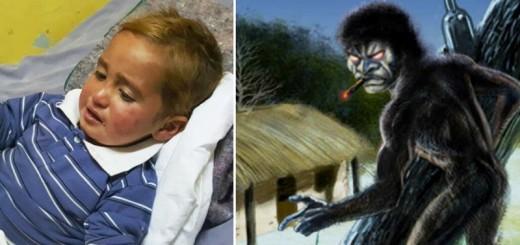 """Los padres del nene que estuvo dos días perdido en el monte siguen creyendo que """"lo llevó El Pombero"""""""