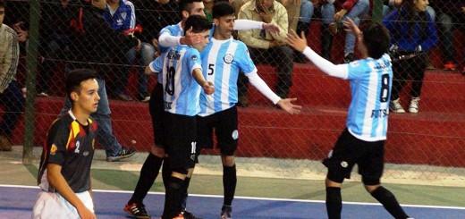 Futsal: A fuerza de goles Argentina no detiene su marcha y ya se instaló en el cuadrangular final