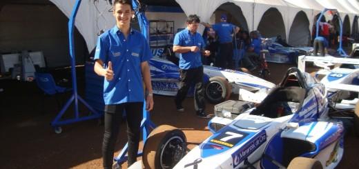 Rudito ya es una promesa seria y quiere  ser campeón para saltar a las ligas mayores del automovilismo