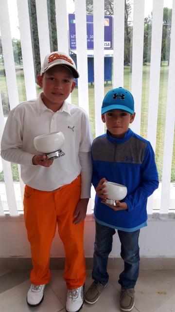 Golf: Los hermanos Misdorp viajaron a Estados Unidos para una capacitación