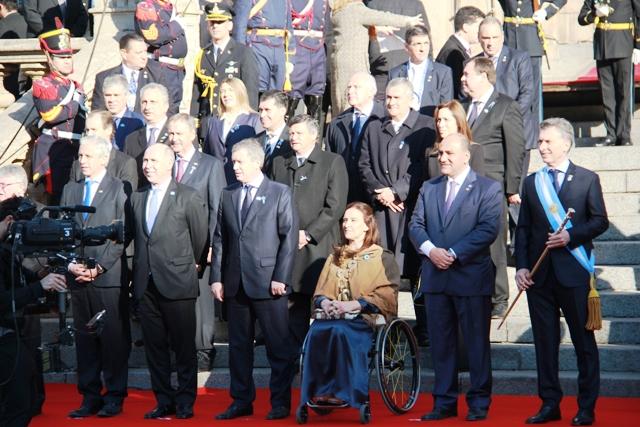 Passalacqua participó en Tucumán de la ceremonia central por los 200 años de la Independencia nacional