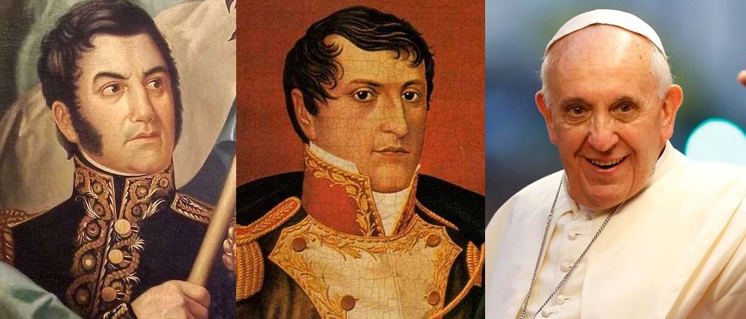 Mirá los 30 primeros: San Martín, Belgrano y Francisco encabezan la encuesta de los argentinos más destacados