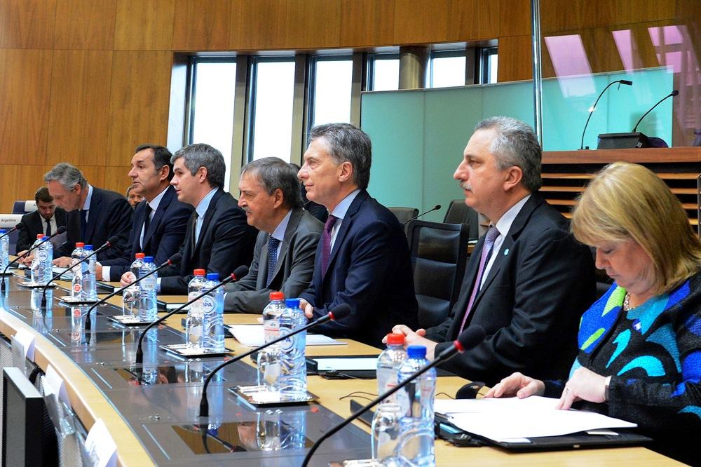 Passalacqua calificó como muy positivas las reuniones con la Comunidad Europea