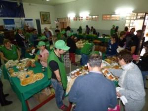 Se inauguró oficialmente la Feria Franca de los domingos en la sede del Partido Justicialista