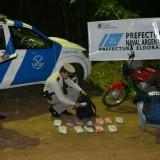 Narcos huyen de la Gendarmería y dejan abandonados 127 kilos de droga en Ituzaingó