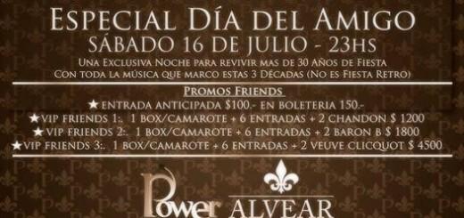 Por el #DíadelAmigo Power presenta su Fiesta Reecuentro