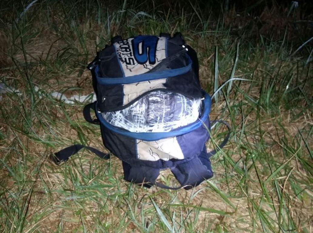 Santo Pipó: encuentran una mochila cargada con marihuana a un costado de la ruta 12