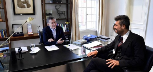 Después de los cruces mediáticos, Macri y Tinelli hicieron las paces en Olivos