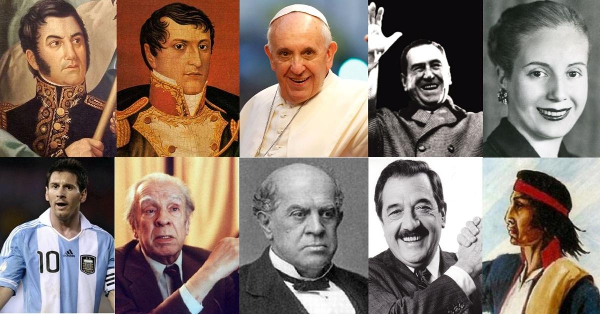 Encuesta del Bicentenario de Misiones OnLine: dos próceres y un actual líder mundial fueron los tres argentinos más votados