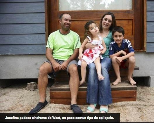 «El aceite de marihuana le permite vivir a mi hija»
