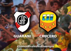 Guaraní frente a Crucero: un amistoso que necesita el fútbol misionero