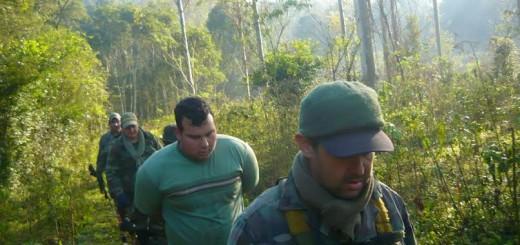 Guardaparques de Ecología detuvieron a un cazador brasileño armado en el parque Horacio Foerster