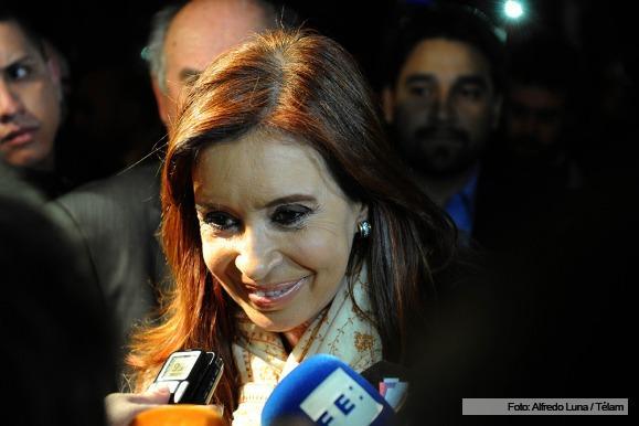 Cristina cumplió una intensa agenda y expresó su preocupación por la situación social del país