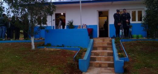 Histórico destacamento policial ahora es comisaría en Pueblo Illia